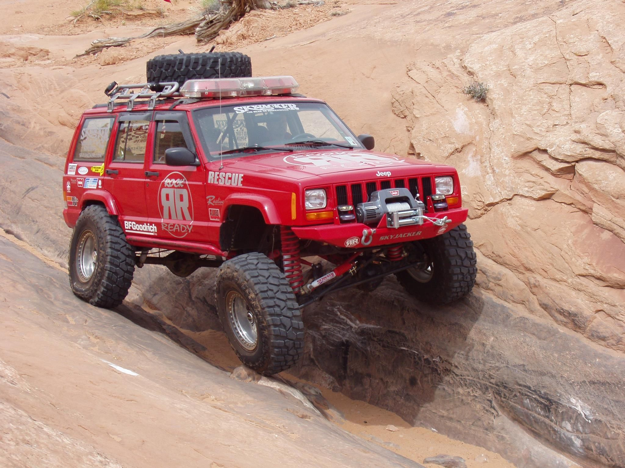 Throwback Thursday Shot Of Our Rescue Cherokee Out In Moab Ut