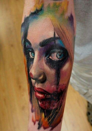 Radiant Colors Tattoo Off Tattoos Portrait Tattoo