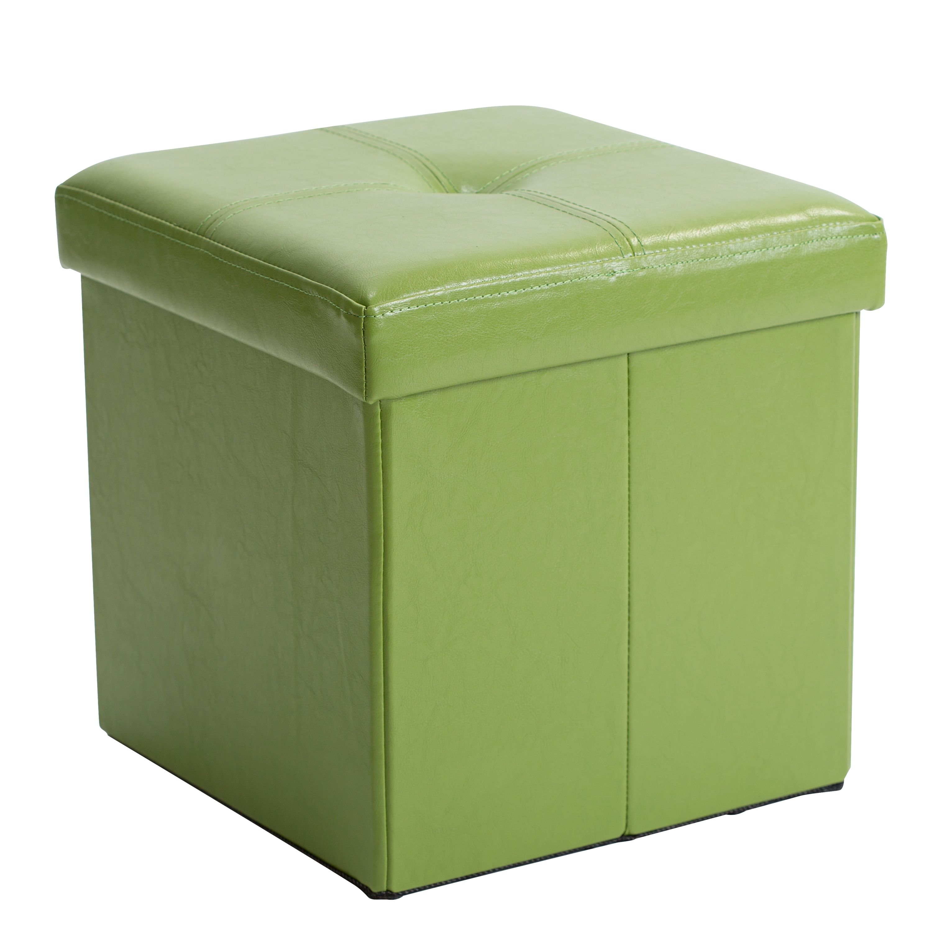 Prime Kennedy Single Folding Ottoman Lime Square Green Kennedy Uwap Interior Chair Design Uwaporg