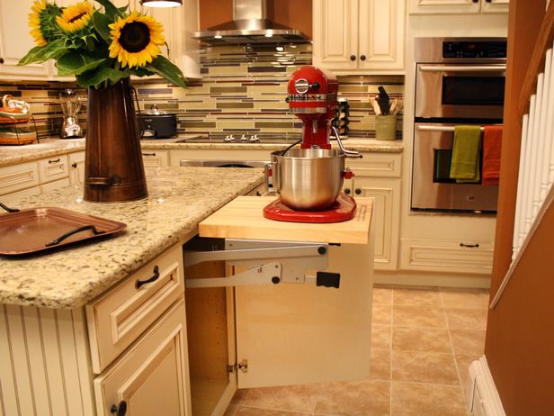 How To Build A Cabinet Shelf For A Mixer Kitchen Mixer