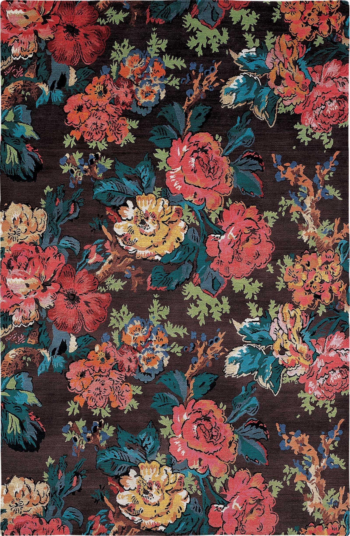 Handmade Designer Rugs By The Rug Company Vintage Flowers