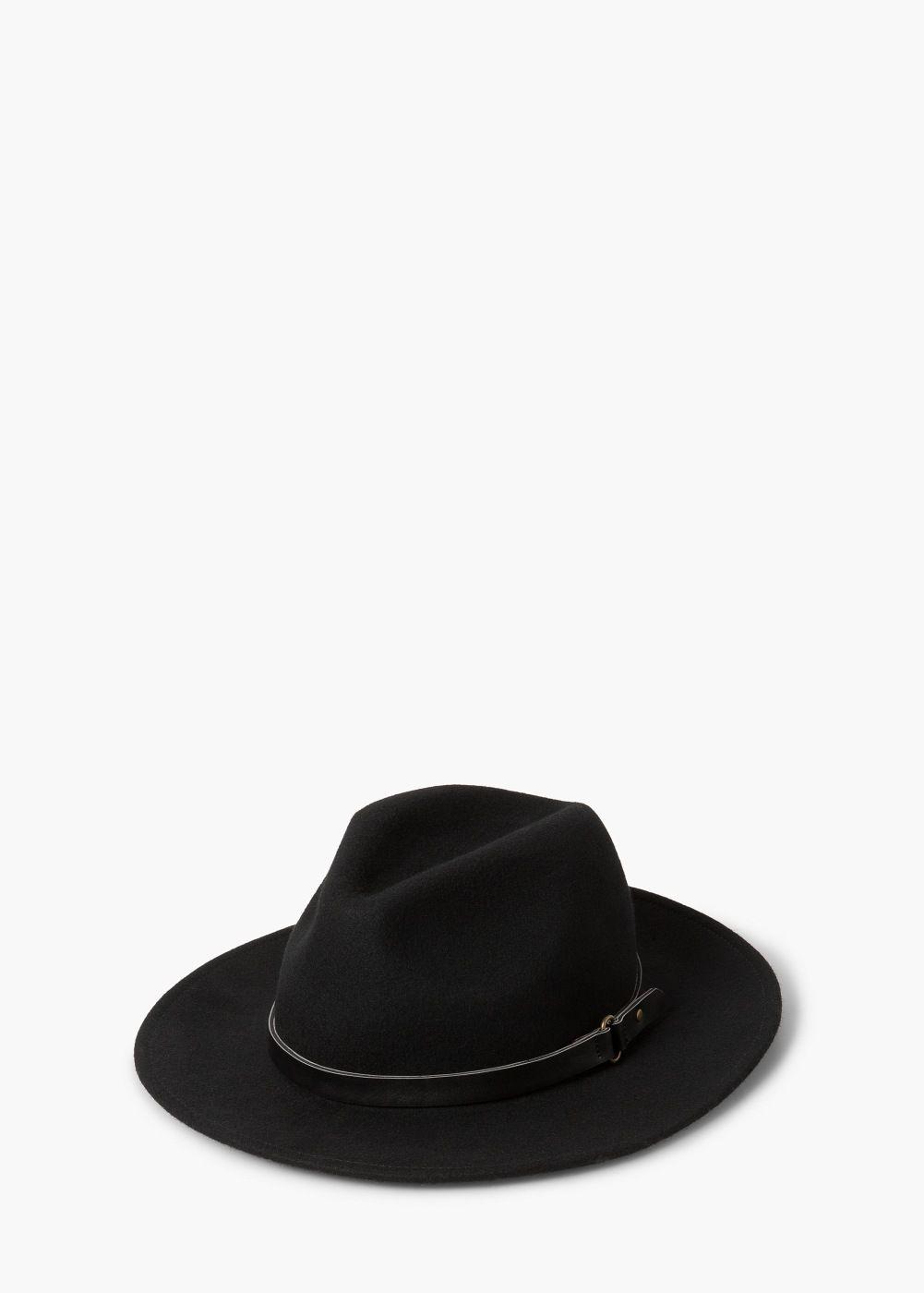 73972dbf611a2 Sombrero fedora lana - Más accesorios de Mujer