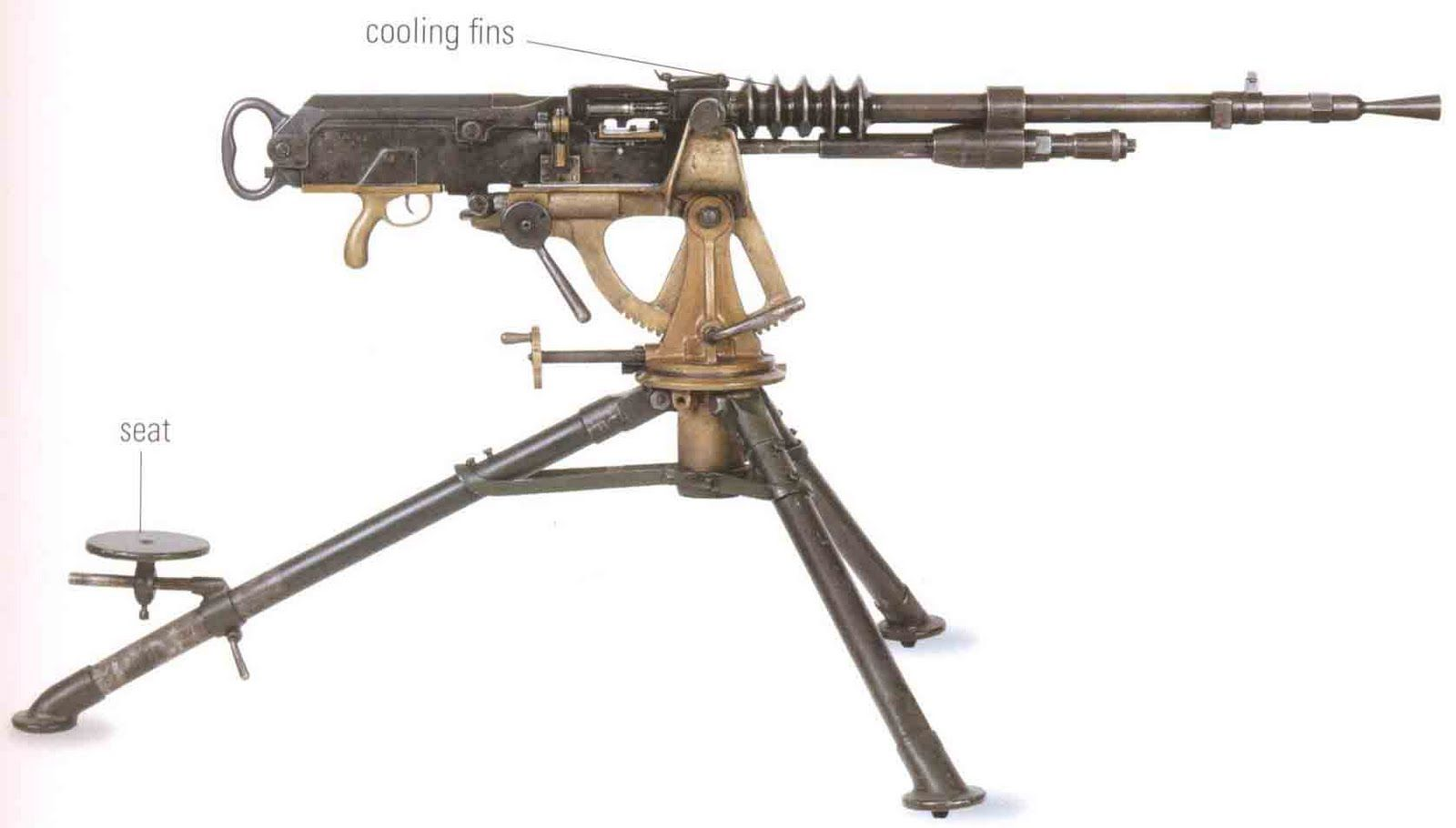 machine guns | French Hotchkiss Mle 1914 was the standard