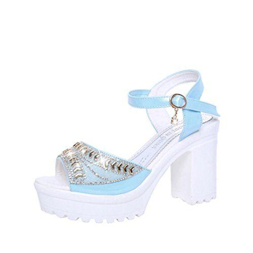 71e2eab0006 DENER Women Ladies Platform Wedge Sandals