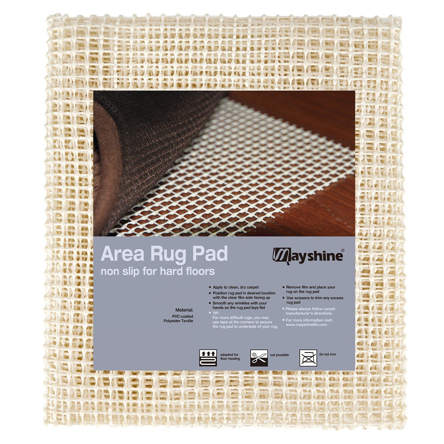 Mayshine Area Rug Gripper Pad 2x8 Feet Want To Know More Click On The Image It Is An Affiliate Link To Amazon In 2020 Area Rug Pad Area Rugs Rug Pad