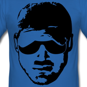 Männer Slim Fit T-Shirt   RICO MOCELLIN