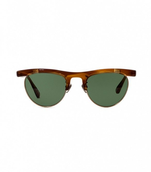 957b0ecfc8a Wear these sunglasses with your favorite sundress and sandals for a go-to  summer ensemble.    Op-4 Sunglasses by Oliver Peoples