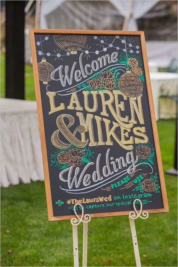 52 Diy Chalkboard Paint Ideas For Furniture And Decor Wedding