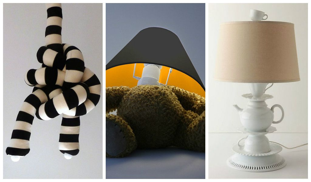 30 Unusual and Fun L& Designs & 30 Unusual and Fun Lamp Designs | Cool projects | Pinterest ...