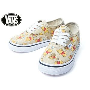 e582cddfac88d8 VANS KIDS VN-01T0GHJ TODDLER AUTHENTIC (Disney) Winnie The Pooh Light Khaki   delicious-y 11000489  -  39.99   Vans Shop