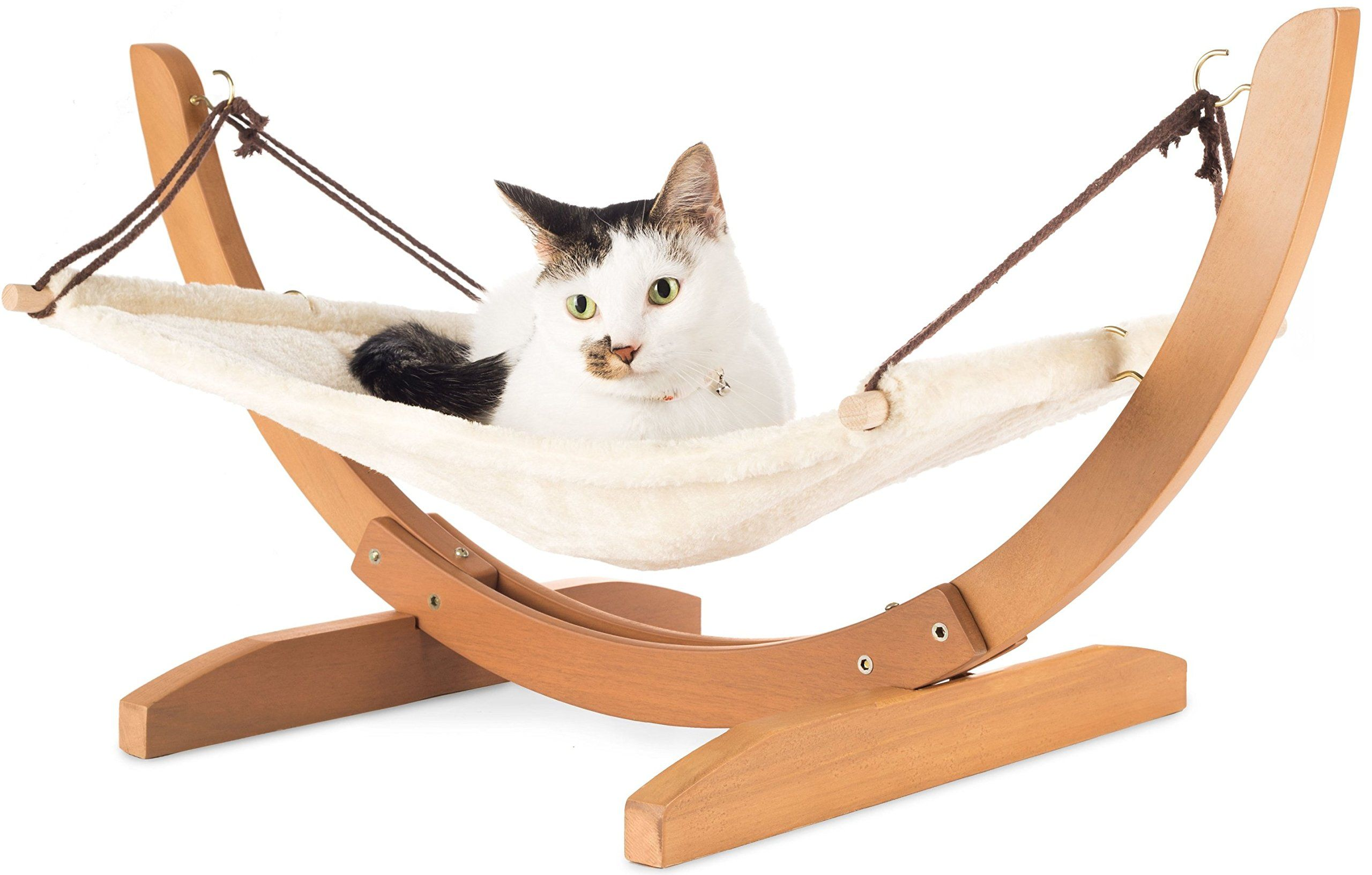 Luxury Cat Hammock Large Soft Plush Bed 24x16in Holds ...