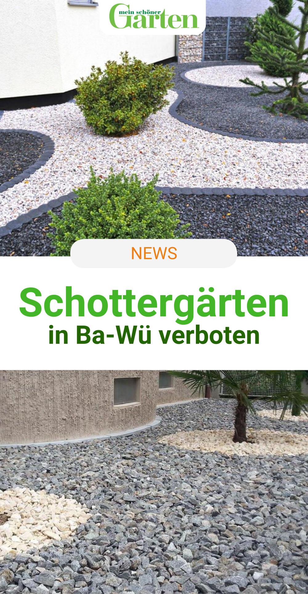 Schottergarten Baden Württemberg
