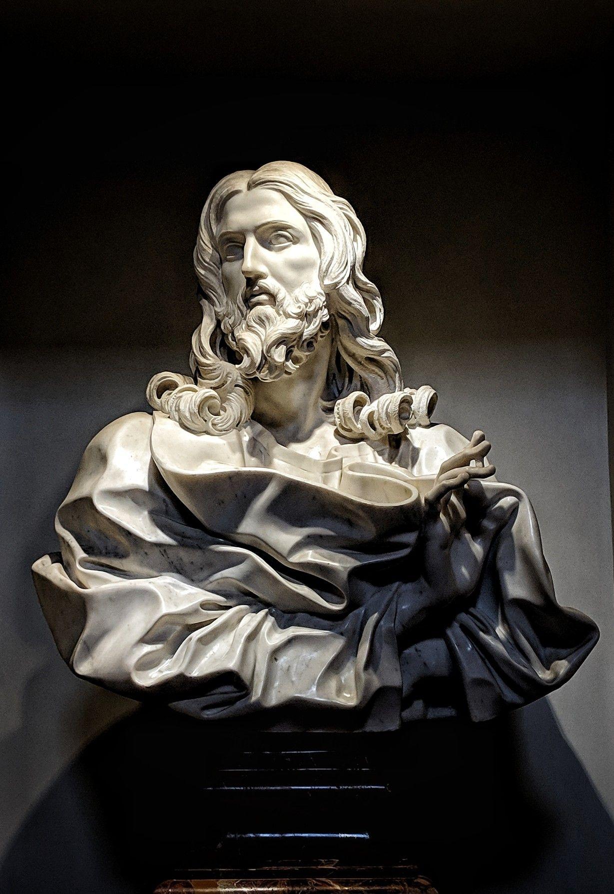 This Bust of the Saviour (Salvator Mundi) is the last