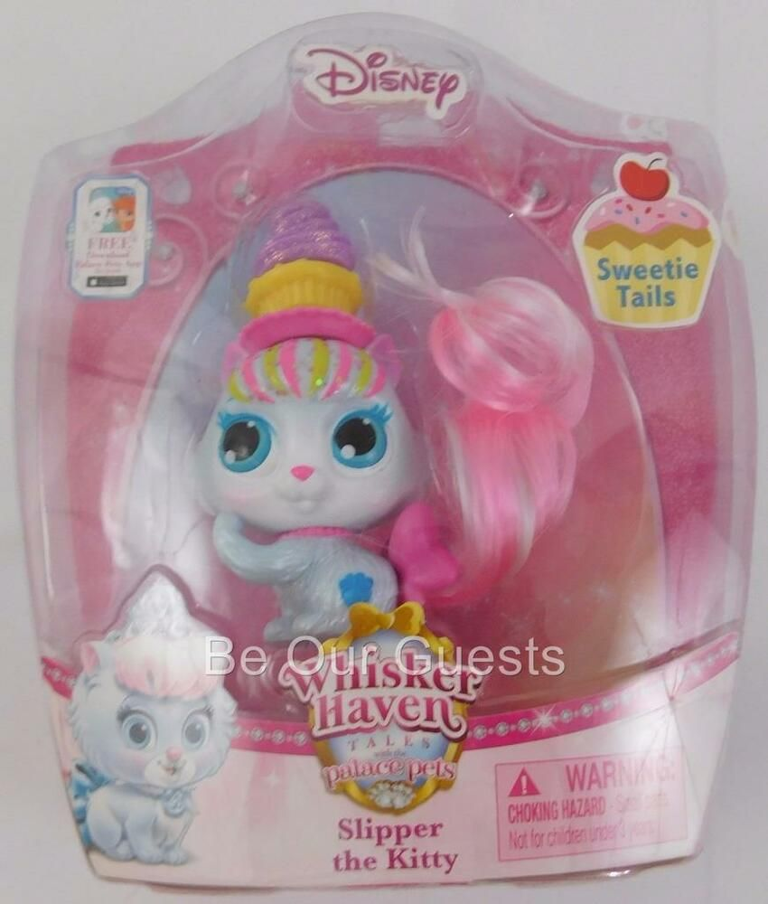 Whisker Haven Palace Pets Sweetie Tails Slipper The Kitty