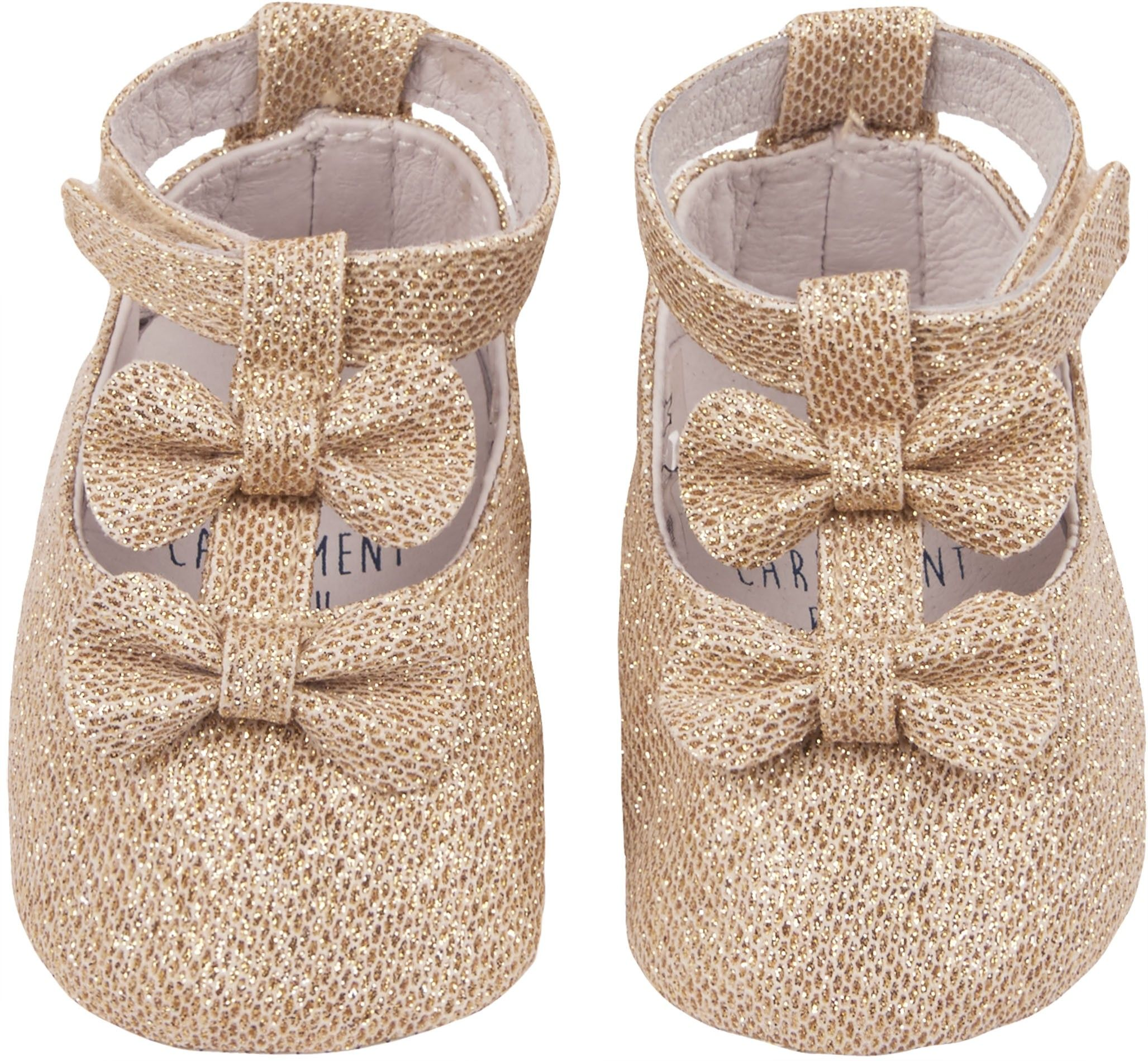 Shop The Carrement Beau Girls Ballet Baby Shoe In Gold Browse The