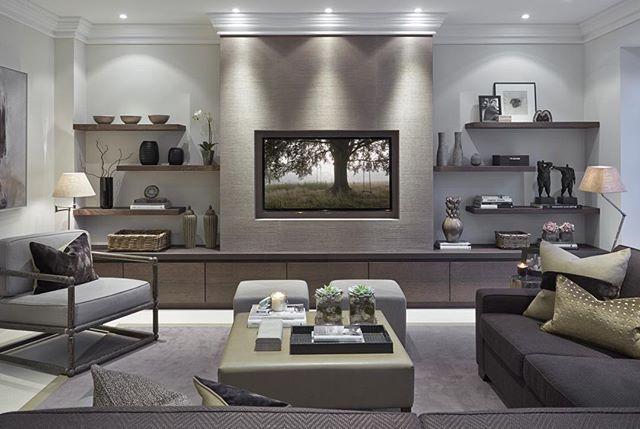 disposizione ideale zona living | mensole | Idee per soggiorni ...