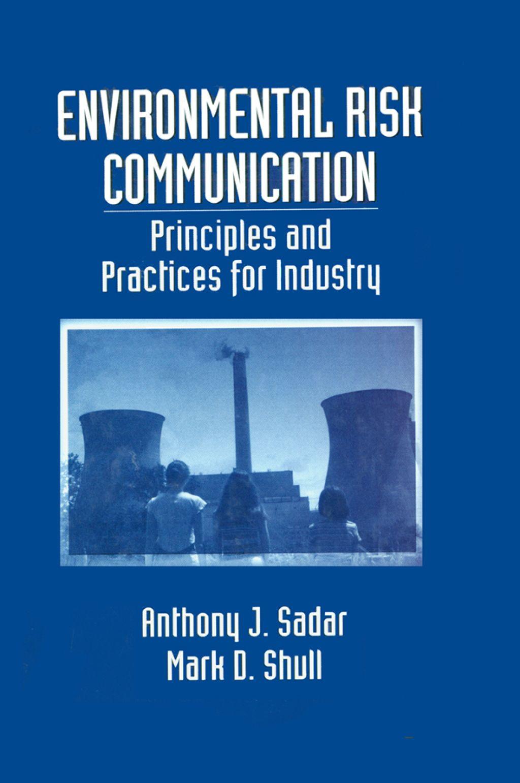 Environmental Risk Communication Ebook Rental Communication