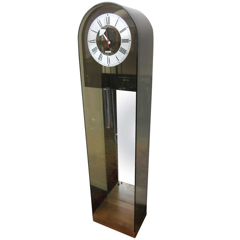 wonderful howard miller george nelson grandfather clock midcentury modern - Howard Miller Grandfather Clock