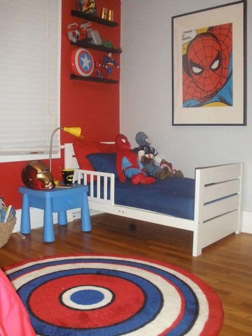 Superheroes 1 superheroes pinterest habitacion para for Dormitorio super heroes