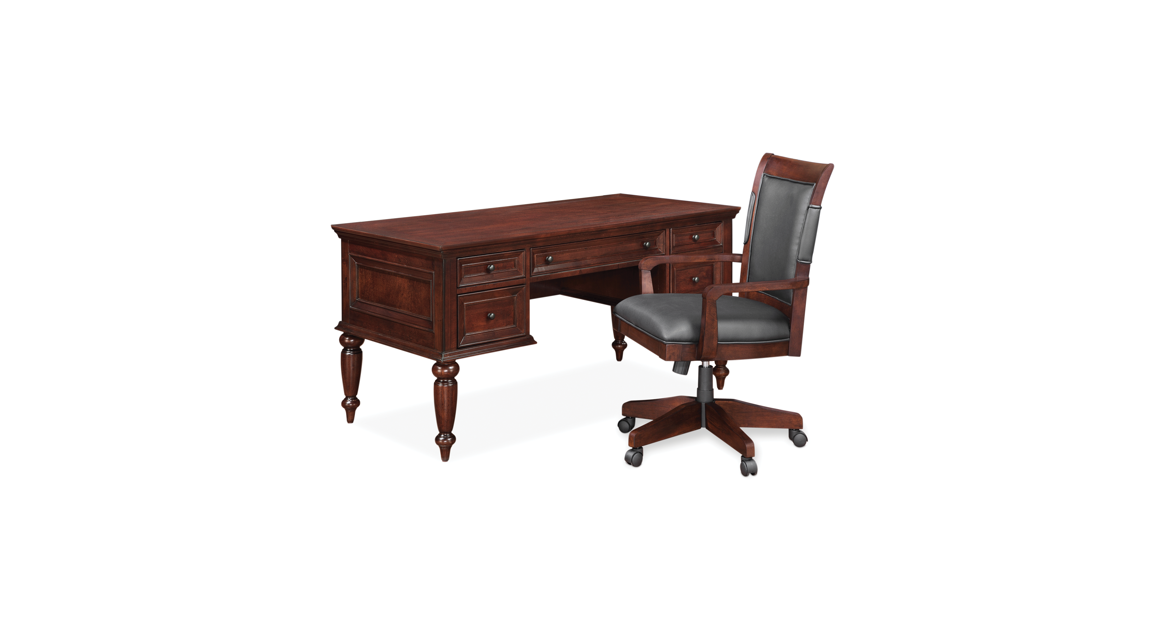 Superb Cambridge 2 Piece Home Office Furniture Set Products Home Interior And Landscaping Transignezvosmurscom