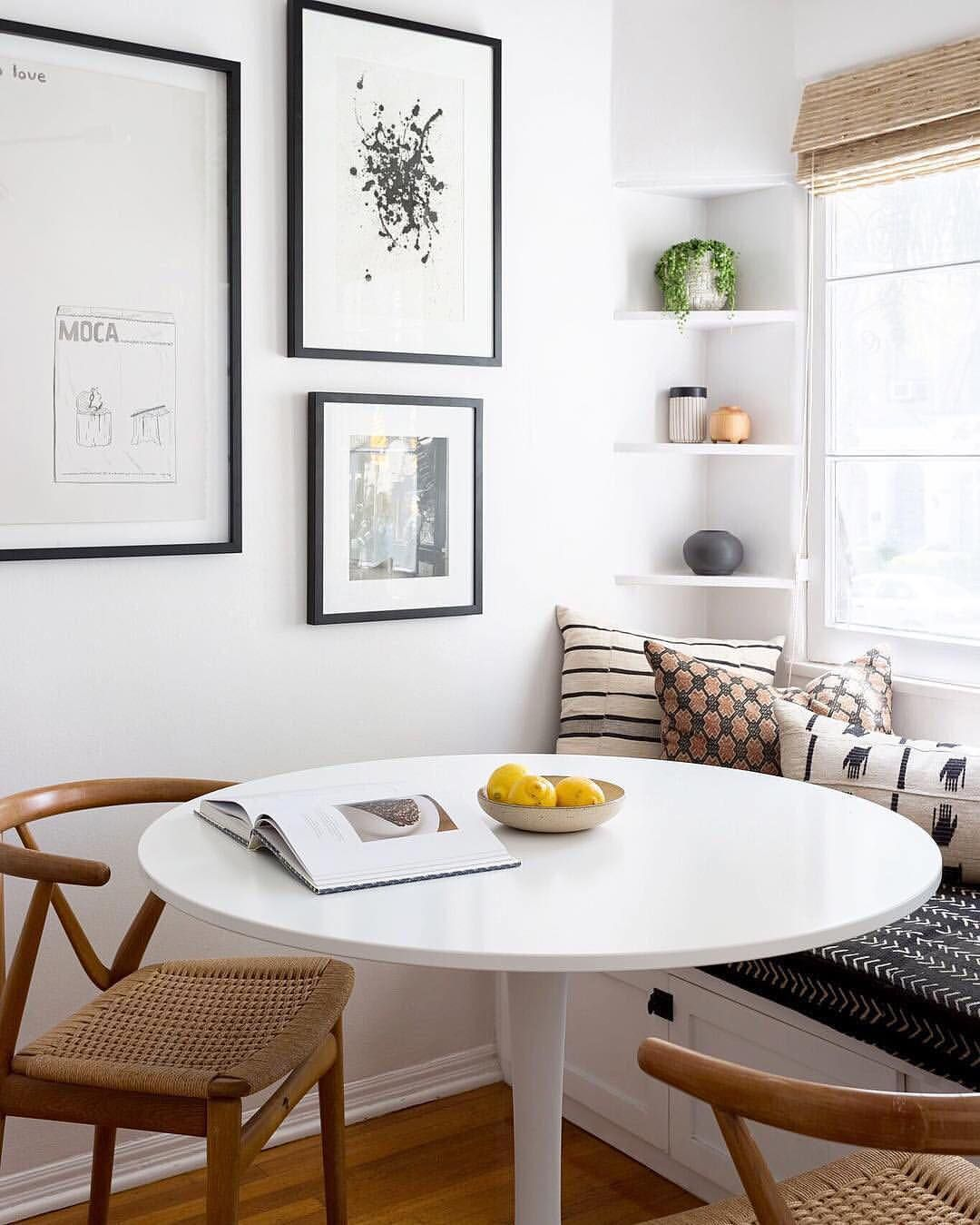 Love Overall Style Love The Table And Chairs And Gallery Wall