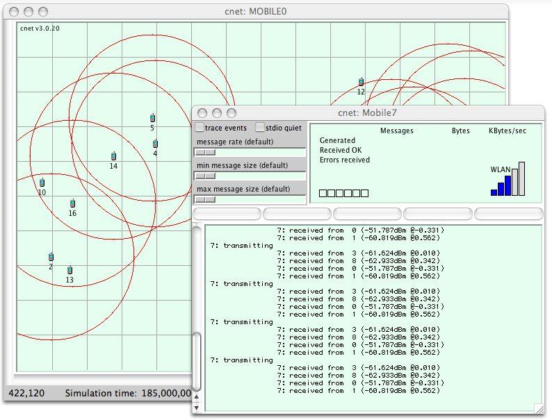 The cnet network simulator (v3 3 3)   NetworkUI   Diagram, Map, Chart