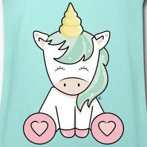 T Shirt Enfant Licorne Kawaii T Shirt Volanté Pour