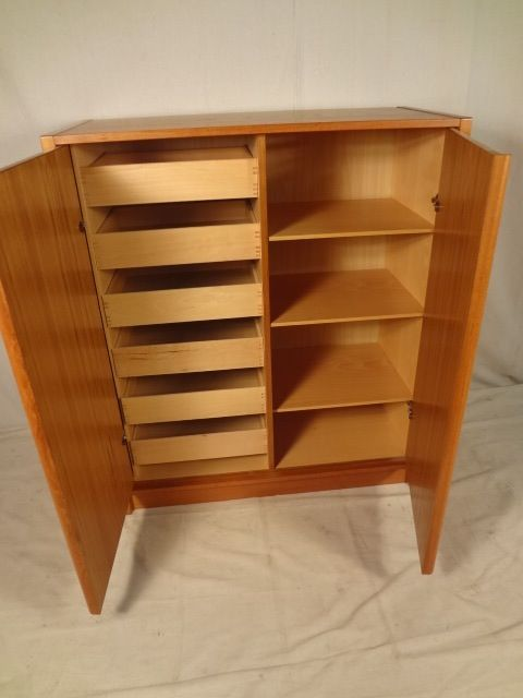 Danish Teak Cabinet/Dresser By Jesper International (00759)r.