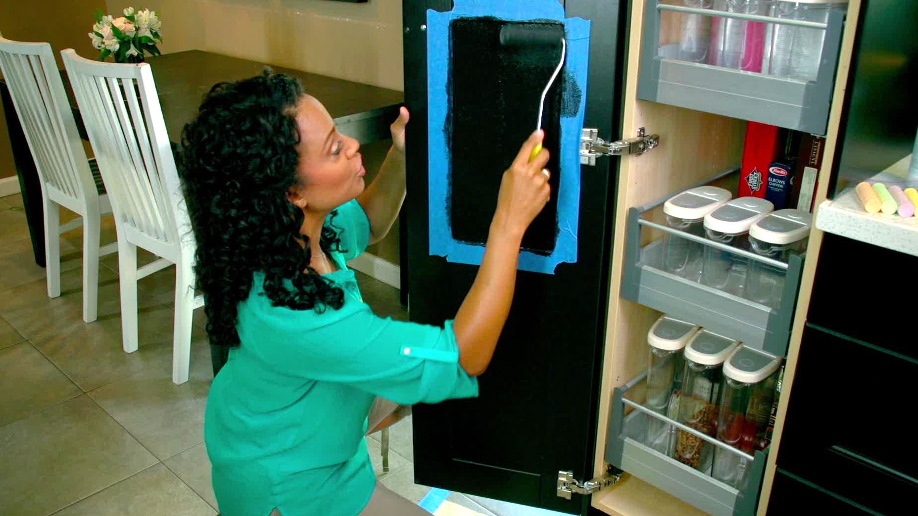 Janell finds hidden space in the kitchen with clever, inexpensive ...