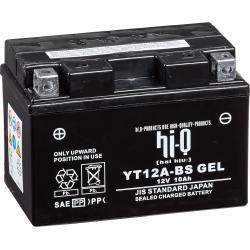 Hi-Q Batterie Agm Gel geschlossen Yt12a-bs, 12V, 10Ah #bluetoothtechnology