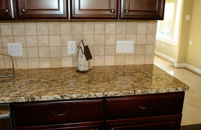 Santa Cecilia Granite Backsplash Ideas In A Fantastic Kitchen