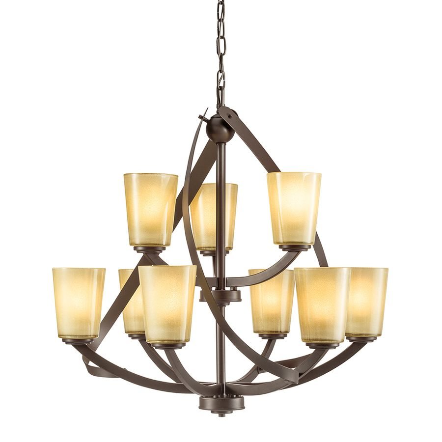 Kichler lighting layla 2626 in 9 light olde bronze rustic etched kichler lighting layla 2626 in 9 light olde bronze rustic etched glass shaded chandelier arubaitofo Images