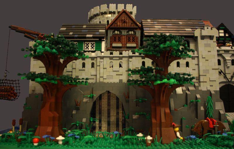 Estuary Stronghold: A LEGO® creation by Eggy Pop : MOCpages.com