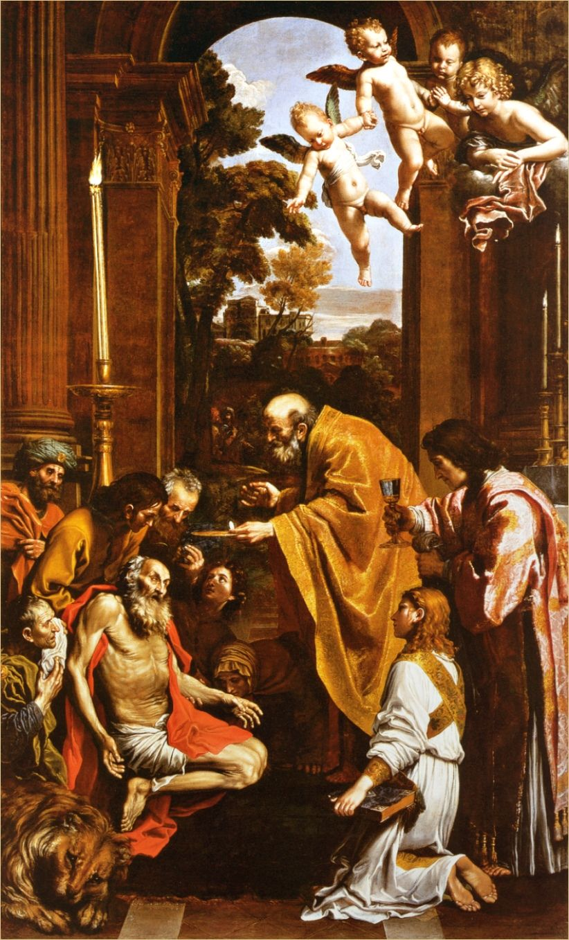 St Margaret - Annibale Carracci - WikiGallery.org, the