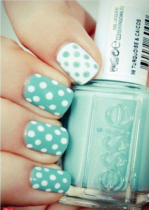 8-Beautiful-Pastel-Nails-4 | Uñas | Pinterest | Diseños de uñas ...