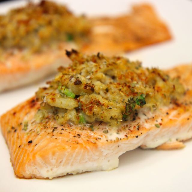 Stuffed Salmon: Many Crab Stuffed Salmon Recipes Require Very Little