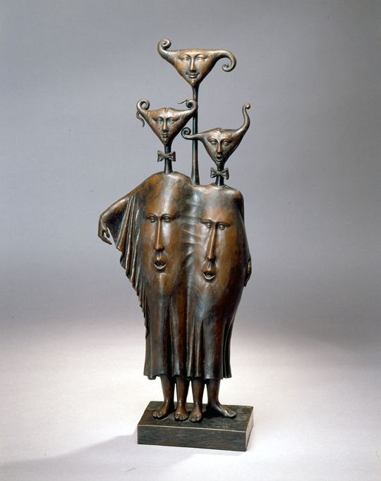 "Made by: Sergio Bustamante , ""Brasil - Brazil""  - Bronze"