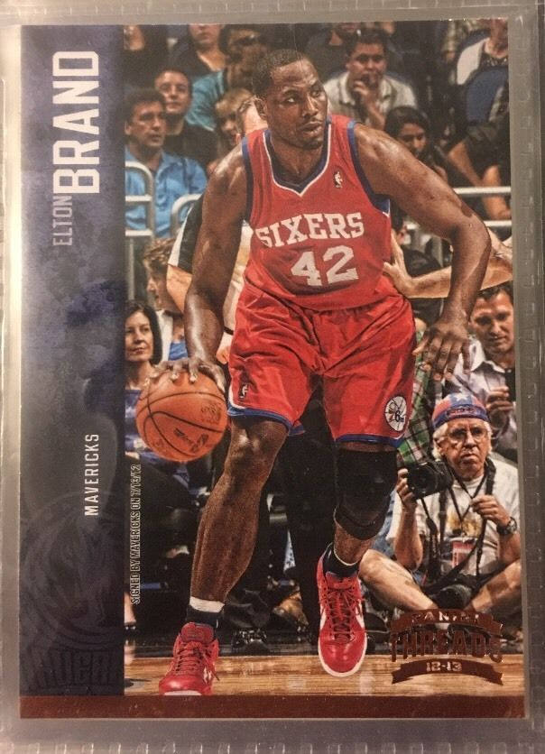 2012 Panini Threads Elton Brand 114 76ers Near Mint Combined s H | eBay