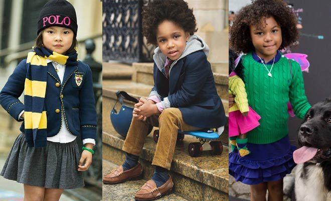 Queremos esta moda de niños para nuestro look!
