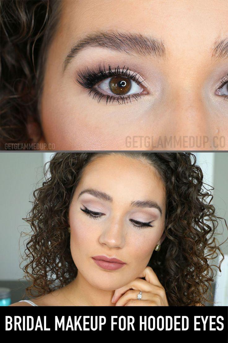 Photo of Bridal Makeup for Hooded Eyes Soft glam rose gold wedding makeup