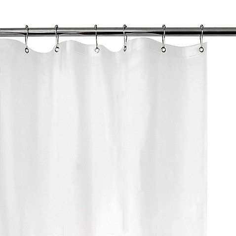 Extra Heavy Weight Vinyl Shower Curtain Liner In White Vinyl Shower Curtains Shower Liner Kids Shower Curtain