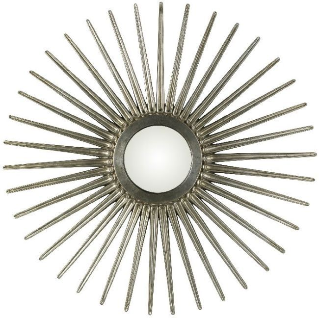 Antique Silver Starburst Mirror Sunburst Mirror Gold Sunburst Mirror Starburst Mirror