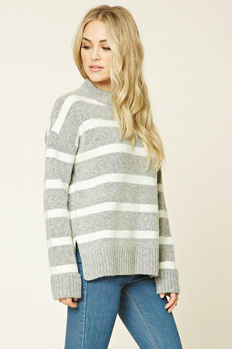 2bb92d3595e5ff contemporary striped sweater