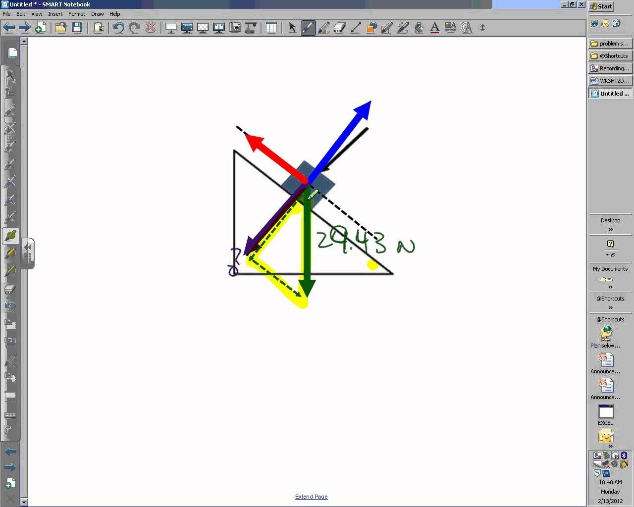 Whs Physics Inclined Plane Problem Set 7