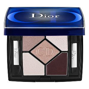 Dior 5-Colour Designer All-In-One Artistry Palette in Nude Pink Design - mauve/ sheer glittering pale pink/ warm rose/ pink pearl/ matte plum burgundy cream #sephora