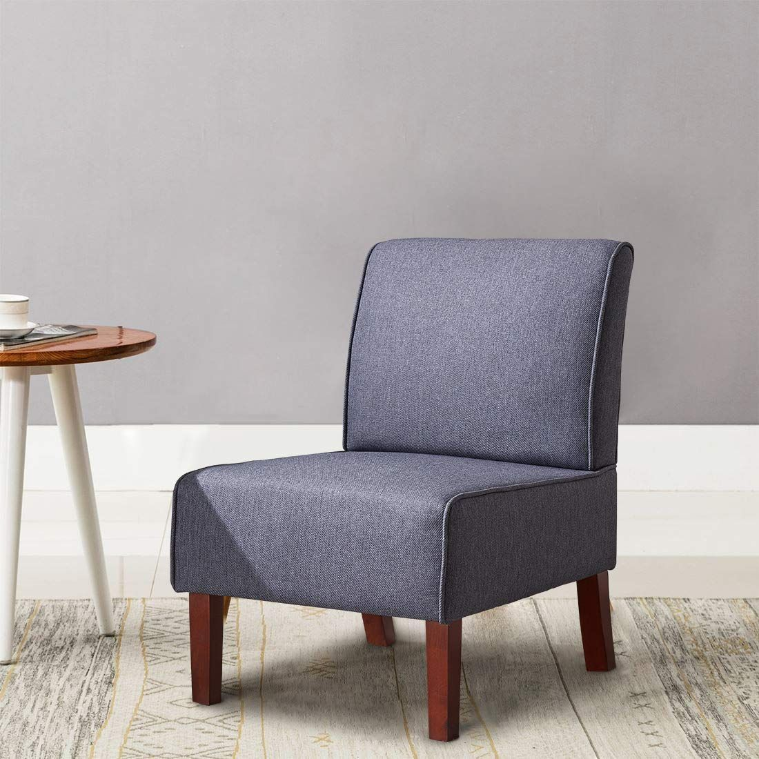 IDS Modern Single Seat Sofa Accent Fabric Chair Single