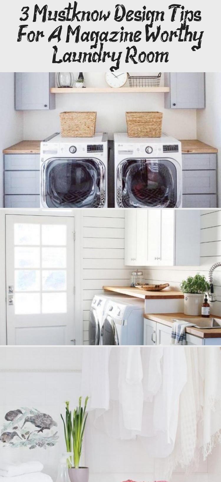 Via Studio Mcgee Shiplap Wall Laundry Room Herringbone Slate