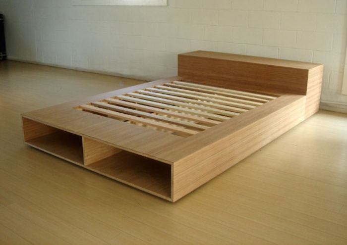 Pin By Markus I On Diy Plywood Bed Designs Bed Frame Design Platform Bed Designs