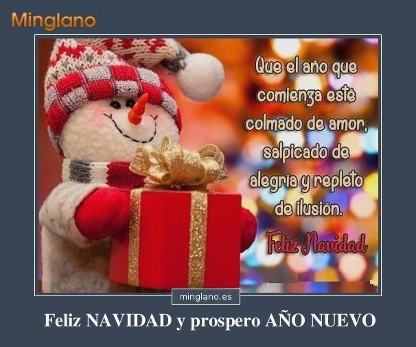 Frases Para Desear Feliz Navidad Y Prospero Año Nuevo
