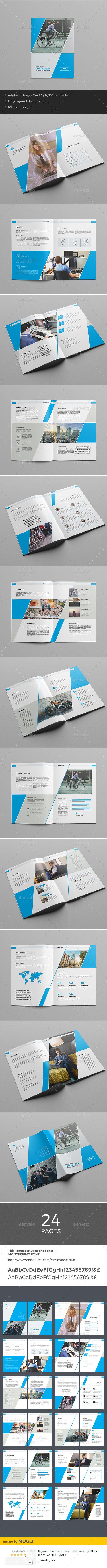 Corporate Brochure | Folletos, Moderno y Folleto corporativo